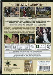 Duello a San Antonio di David Butler - DVD - 2