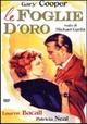 Cover Dvd DVD Foglie d'oro