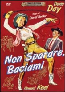 Non sparare, baciami di David Butler - DVD