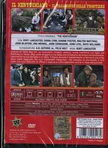 Il vagabondo delle frontiere di Burt Lancaster - DVD - 2