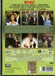Suez di Allan Dwan - DVD - 2