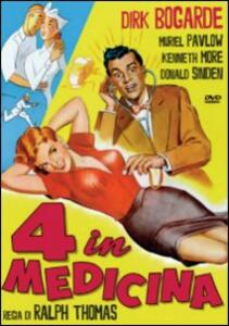 4 in medicina di Ralph Thomas - DVD