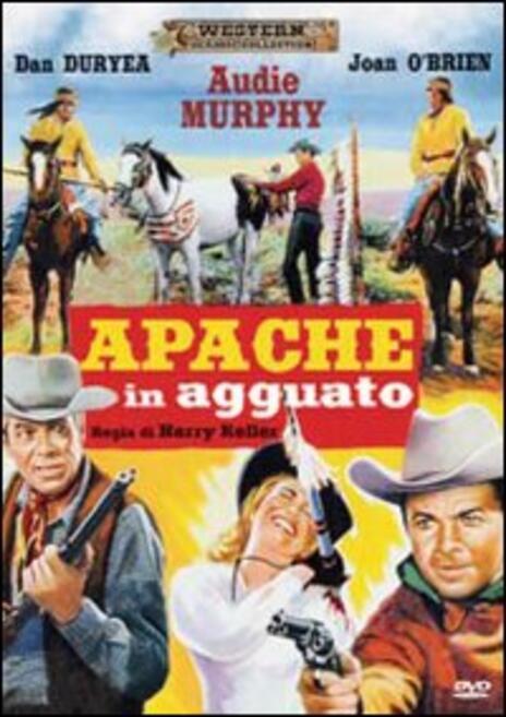 Apache in agguato di Harry Keller - DVD