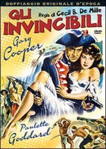Gli invincibili di Cecil B. De Mille - DVD