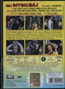 Gli invincibili di Cecil B. De Mille - DVD - 2