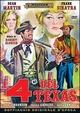 Cover Dvd DVD I quattro del Texas