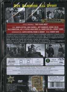 Due bandiere all'Ovest di Robert Wise - DVD - 2