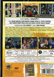 Tre contro tutti di John Sturges - DVD - 2