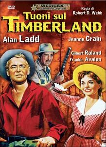 Tuoni sul Timberland di Robert D. Webb - DVD