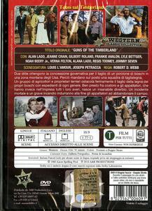 Tuoni sul Timberland di Robert D. Webb - DVD - 2