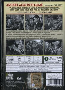 Arcipelago in fiamme di Howard Hawks - DVD - 2