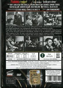 7 giorni a maggio di John Frankenheimer - DVD - 2