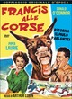 Cover Dvd Francis alle corse