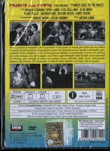 Francis alle corse di Arthur Lubin - DVD - 2