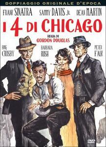 I 4 di Chicago di Gordon Douglas - DVD