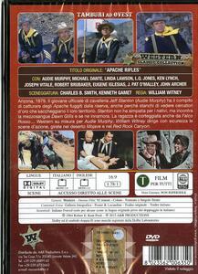 Tamburi ad Ovest di William Witney - DVD - 2
