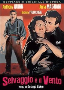 Selvaggio è il vento di George Cukor - DVD