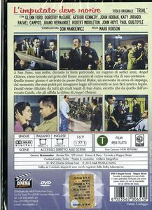 L' imputato deve morire di Mark Robson - DVD - 2