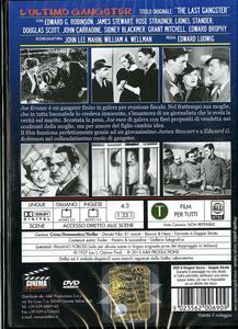 L' ultimo gangster di Edward Ludwig - DVD - 2