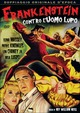Cover Dvd Frankenstein contro l'uomo lupo