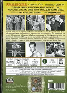 Passione. Il ragazzo d'oro di Rouben Mamoulian - DVD - 2