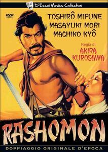 Rashomon di Akira Kurosawa - DVD