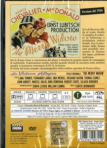 La vedova allegra (2 DVD) di Curtis Bernhardt,Ernst Lubitsch - 2