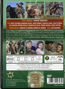 Territorio Apache di Ray Nazarro - DVD - 2