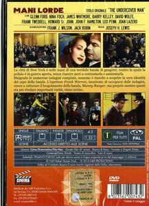 Mani lorde. Il capo della gang di Joseph H. Lewis - DVD - 2