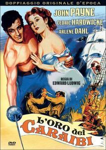 L' oro dei Caraibi di Edward Ludwig - DVD