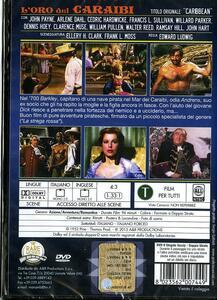 L' oro dei Caraibi di Edward Ludwig - DVD - 2