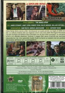 Lo sperone nudo di Anthony Mann - DVD - 2