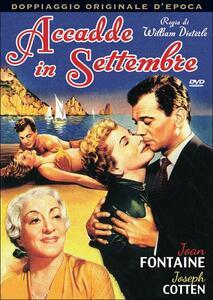 Accadde in settembre di William Dieterle - DVD