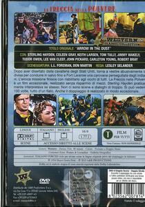 La freccia nella polvere di Lesley Selander - DVD - 2