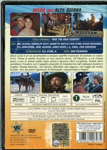 Sfida nell'Alta Sierra di Sam Peckinpah - DVD - 2