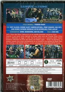 Sangue sul fiume di Louis King - DVD - 2