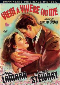 Vieni a vivere con me di Clarence Brown - DVD