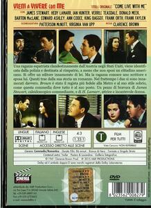 Vieni a vivere con me di Clarence Brown - DVD - 2