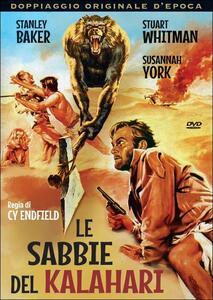 Le sabbie del Kalahari di Cy Baker Endfield - DVD