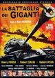 Cover Dvd La battaglia dei giganti