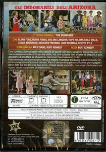 Gli indomabili dell'Arizona di Burt Kennedy - DVD - 2