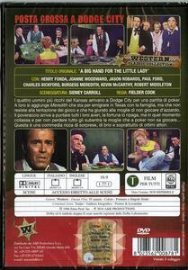 Posta grossa a Dodge City di Fielder Cook - DVD - 2