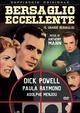 Cover Dvd Bersaglio eccellente