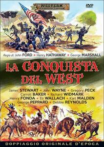 La conquista del West di John Ford,Henry Hathaway,George Marshall - DVD