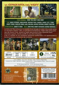 La conquista del West di John Ford,Henry Hathaway,George Marshall - DVD - 2