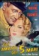 Cover Dvd Gli amanti dei cinque mari