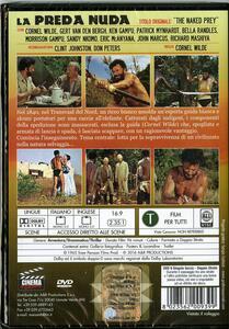 La preda nuda di Cornel Wilde - DVD - 2