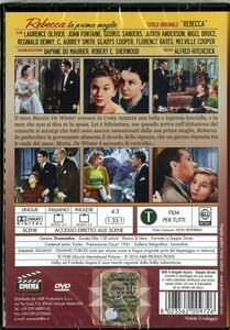 Rebecca, la prima moglie di Alfred Hitchcock - DVD - 2