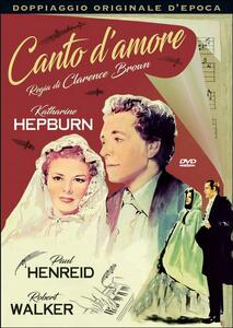 Canto d'amore di Clarence Brown - DVD