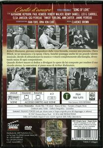 Canto d'amore di Clarence Brown - DVD - 2